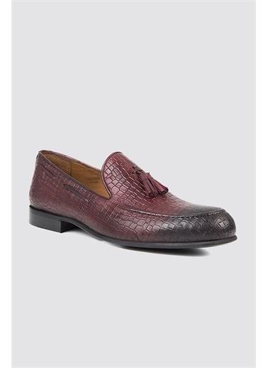TWN Loafer Ayakkabı Bordo